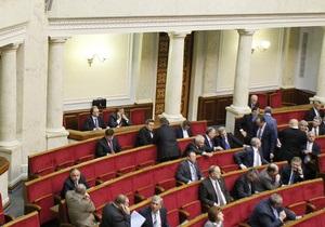 Янукович подписал изменения в регламент Рады