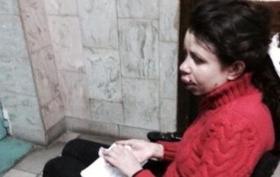 Татьяна Черновил находится в больнице