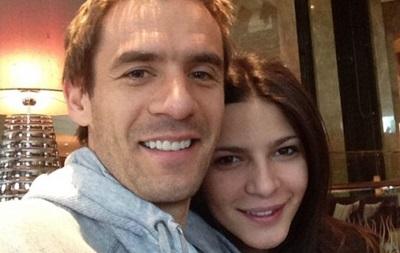 У нападающего сборной Украины родилась дочь Сара