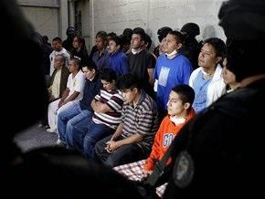 Мексиканская полиция освободила из рабства более 100 индейцев