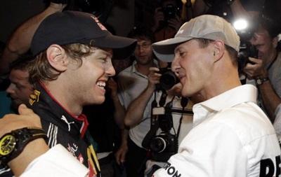 Себастьян Феттель был шокирован новостью о травме Шумахера