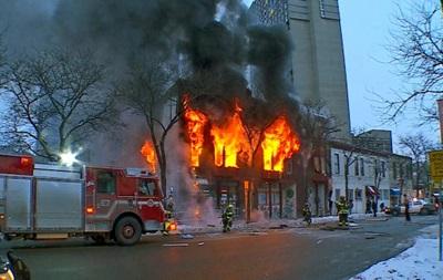 В американском Миннеаполисе произошел взрыв в жилом доме