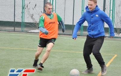 Игрок Динамо сыграл в футбол с воспитанниками детской колонии