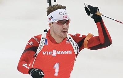 Биатлон: Свендсен сделал золотой дубль в Оберхофе