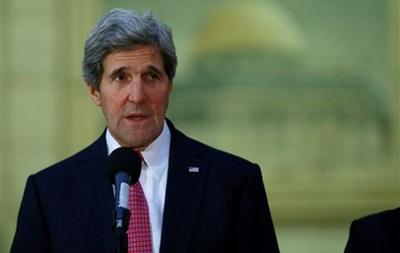 Госсекретарь США Джон Керри снова находится с визитом на Ближнем Востоке