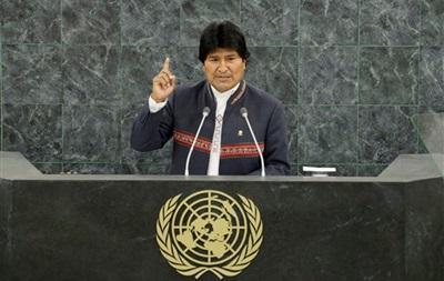 В Боливии старт операции по уничтожению плантаций коки дал лично президент страны