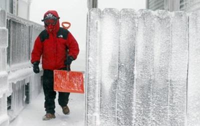 Полярная воронка  принесла в CША небывалые морозы