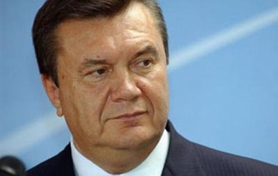 Янукович едет на один день в Донецкую область - навестить внуков