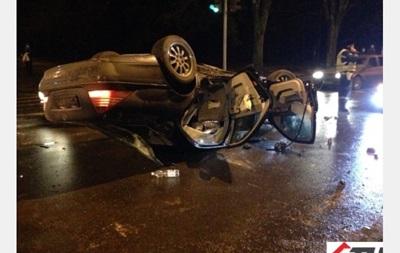 В Харькове ДТП с участием милицейского автомобиля: травмированы 7 человек
