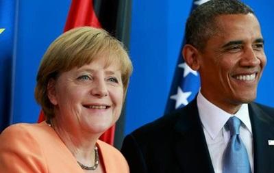 Обама пригласил Меркель приехать с визитом в Вашингтон