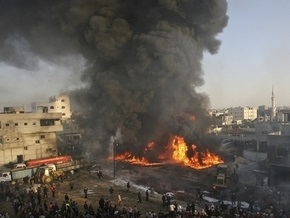 ВВС Израиля нанесли удар по тоннелям на границе сектора Газа и Египта