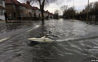 Наводнение в Великобритании. Темза вышла из берегов