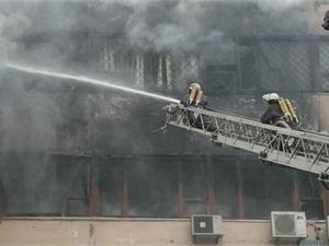 Подозреваемого по делу о пожаре на харьковской ювелирной фабрике объявили в розыск