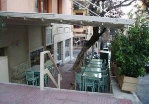 В центре Афин бросили бомбу в известный ресторан