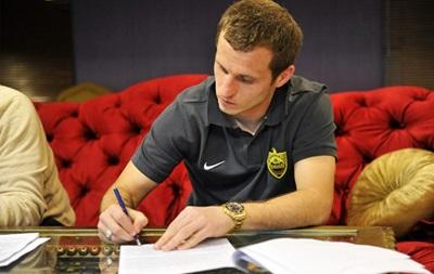 Александр Алиев подписал контракт с Анжи