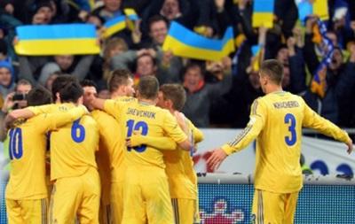 Сборная Украины начнет год матчем со сборной США