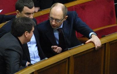 Яценюк обещает вторую волну массовых протестов за голосование в ВР законопроектов руками и без обсуждения