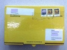 По Австрии рассылаются посылки с кислотой