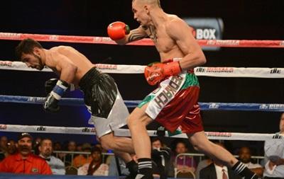 Бокс: Украинец Редкач разбил голову сопернику на ринге
