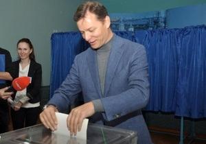 Розинская заявляет о победе Ляшко в округе №208 в Черниговской области