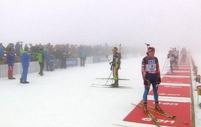 Биатлон: Женскую гонку этапа Кубка мира отменили из-за тумана