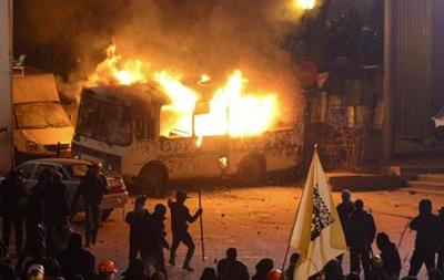 Беспорядки в Киеве - горячая тема в социальных сетях