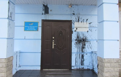 Правый сектор устраивает атаки на офисы Партии регионов