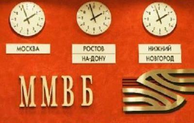 Средневзвешенный курс доллара на ММВБ к закрытию