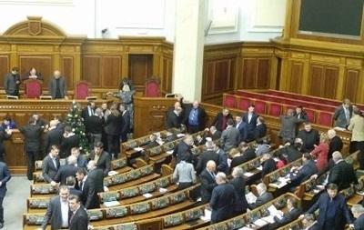 Оппозиция предлагает Раде отменить закон, вызвавший новую волну протестов в Украине
