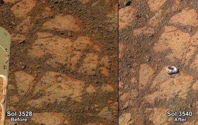 Время собирать камни: ученые обнаружили на Марсе странную находку