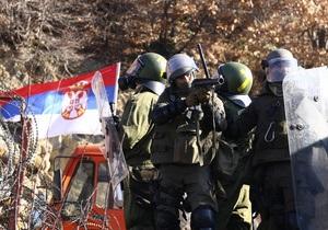 Полиция Евросоюза заблокировала конвой с помощью для сербов из РФ на границе Косово