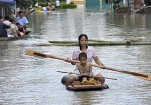 В Китае жертвами наводнений стали 50 человек