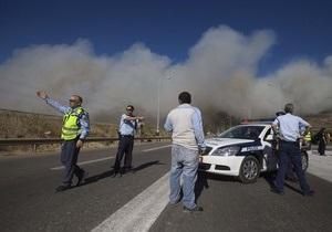 Израиль потратит еще неделю на тушение лесного пожара