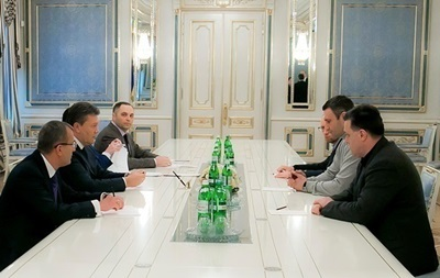 Лидеры оппозиции огласят результаты переговоров с Януковичем со сцены Майдана (уточнено)