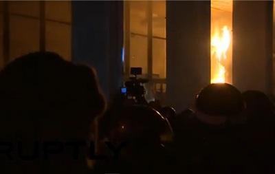 Активисты Евромайдана заняли Украинский дом