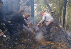 В Хмельницкой области при пожаре погибли трое четырехлетних детей