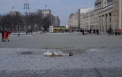 В Берлине прошел перфоманс в знак солидарности с Евромайданом