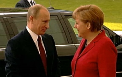 Путин и Меркель обсудили ситуацию в Украине
