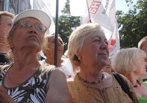 Количество сторонников Тимошенко около Печерского суда увеличилось до пяти тысяч