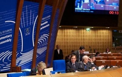 ПАСЕ настаивает, что Россия давит на Киев