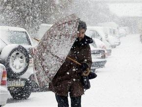В Западной Европе не прекращаются снегопады