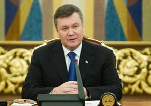 Янукович провел телефонный разговор с Лукашенко