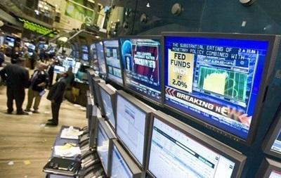 Рынки США открылись в  красной зоне