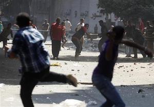 Каирские столкновение привели к гибели уже более 50 человек - новости египта - протесты в каире