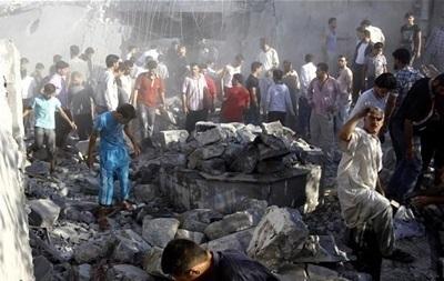 В результате удара правительственной авиации в Сирии погибли 18 человек