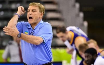 Тренер сборной: Для украинского баскетбола матч с США – это подарок