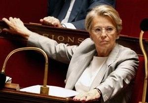 Глава МИД Франции ушла в отставку из-за скандала