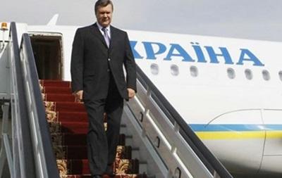 Виктор Янукович планирует побывать на Олимпиаде в Сочи