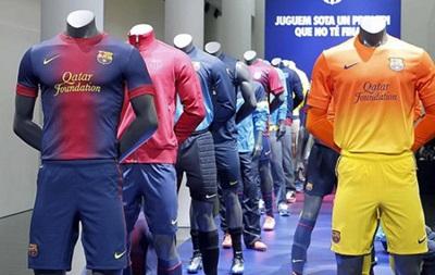 Барселона лидирует в Европе по продажам клубных футболок