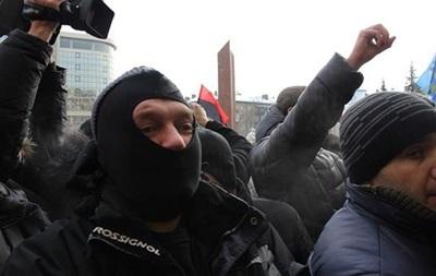 Неизвестные пытались захватить Львовскую ОГА